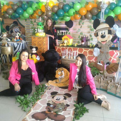 Decoración fiesta 1 añito selva