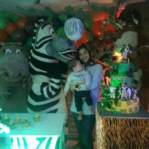 fiesta 1 añito selva