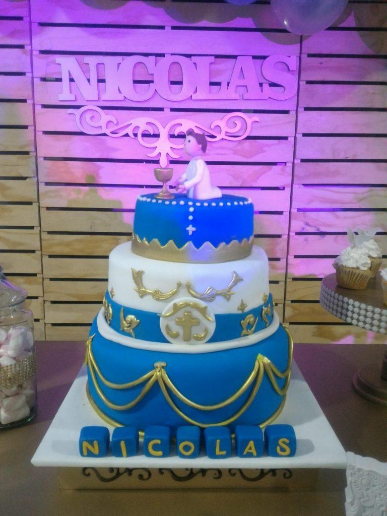 torta primera comunion