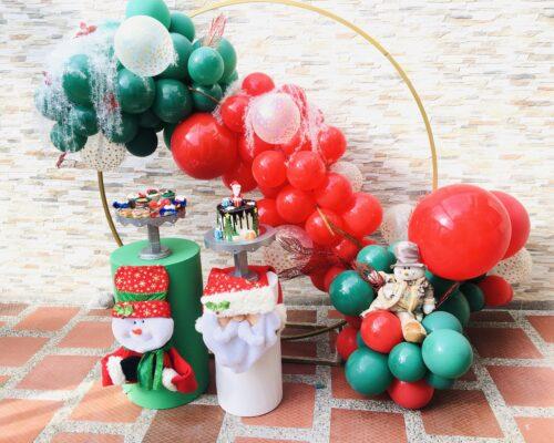 Decoración de detalles Navidad Empresarial